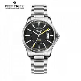Reef Tiger Seattle Space Needle Automatic Mens Watch # RGA166-YBYG