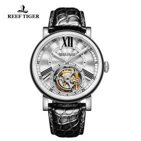 Reef Tiger Artist Graver Tourbillon Men's Watch # RGA1999-YWB