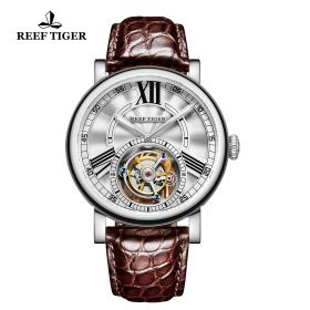 Reef Tiger Artist Graver Tourbillon Men's Watch # RGA1999-YWS