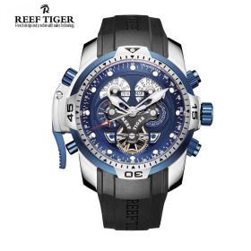 Reef Tiger Aurora Concept Automatic Mens Sports Watch # RGA3503-YLBB