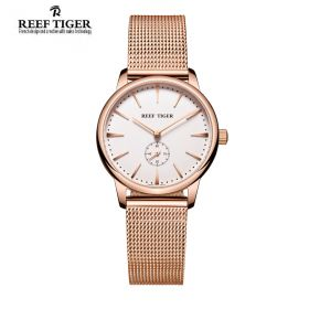 Reef Tiger Classic Vintage Quartz Womens Watch # RGA820-PWP