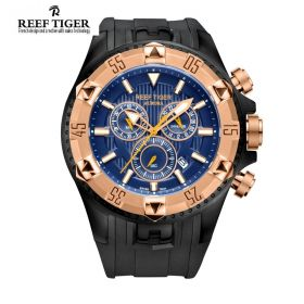 Reef Tiger Hercules Chronograph Mens Watch # RGA303-PLB