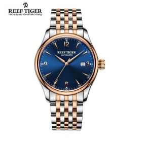 Reef Tiger Classic Heritage Automatic Mens Watch # RGA823G-PLT
